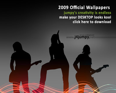 J4JUMPY 2009 Official Wallpapers - download now