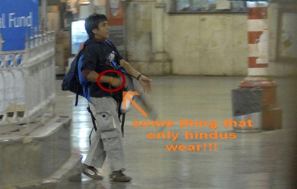 Mumbai Terrorist - a hindu extrimist