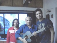 Mahesh Bhatt and Mustafa Zahid from Roxen Band