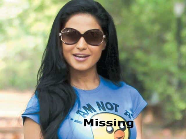 Veena Malik goes missing in Mumbai
