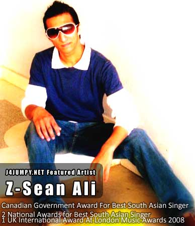 Z-Sean Ali - Award Winning Pakistani Singer & based in Canada