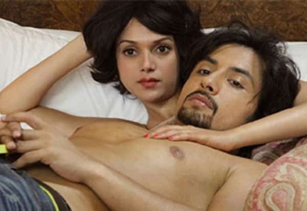 Aditi Rao On Bed with Ali Zafar