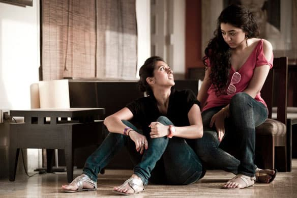 'Cheap' art: Cousins Mehak Taherani and Suhana Baloch, aka Cheapmunks, shot to fame when they posted a duet on Facebook in September.