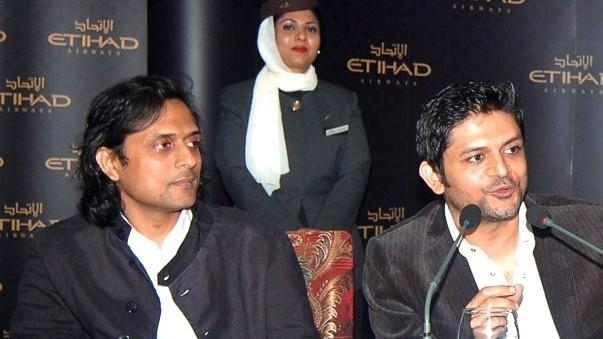 Bilal Maqsood and Faisal Kapadia are the new brand ambassadors for Etihad Airways.