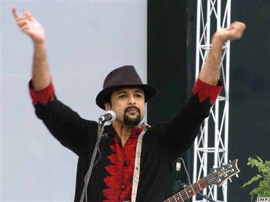 "Salman Ahmad, frontman for the rock band Junoon, says his strong faith in Sufi Islam serves as a ""foundation that gives him the strength"" to question the edicts against music from extremists in Pakistan."