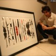 Ali Zafar Painting for Flood Relief Pictures (5)