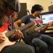 Atif Aslam, Todd Shea, Sarmad, Lanny jamming in Pakistan (1)