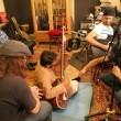 Atif Aslam, Todd Shea, Sarmad, Lanny jamming in Pakistan (2)