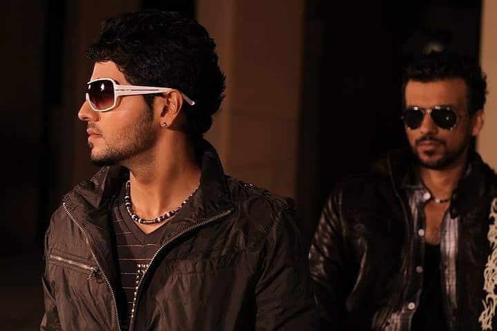 Snapshot from music video shoot