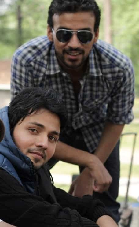 Kamran & Amir Chaudhary during 2nd shoot