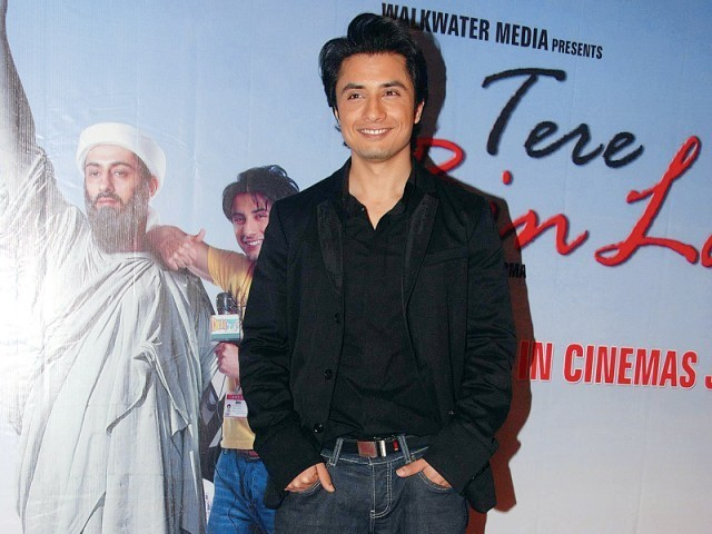 Ali Zafar, the singer-turned-actor, is hopeful to impart his talent for music to the under-privileged children. PHOTO: FILE