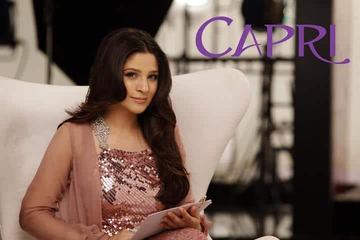 Capri introduces the inspiring Ayesha Omar as their Brand Ambassador