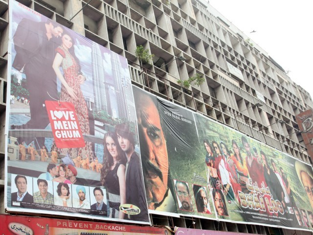 Cinema owners are happy that shows are selling out for the first time in years. PHOTOS: NEFER SEHGAL/EXPRESS TRIBUNE